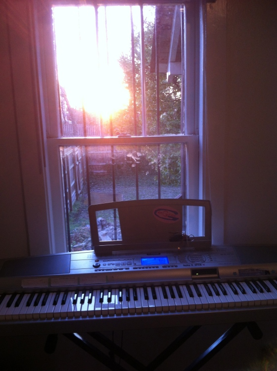 sunset piano