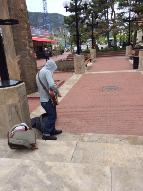 street performere